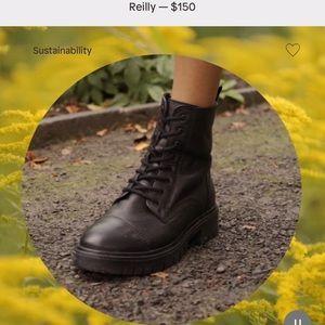 ALDO combat boot